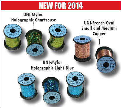 News from UNI products 2014