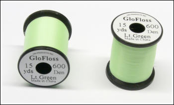 New UNI-GloFloss Light Green