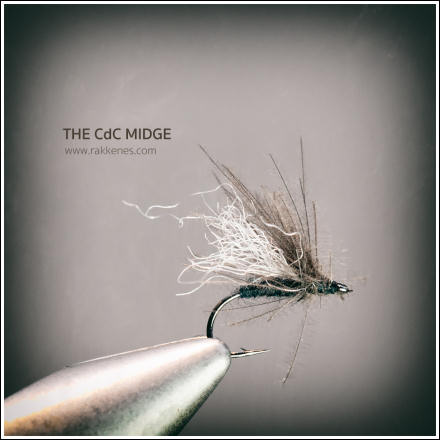 If I only could fish with one fly, it would have been this one, The CDC Midge