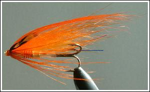 Radiant Orange Spey, by Jurij Shumakov